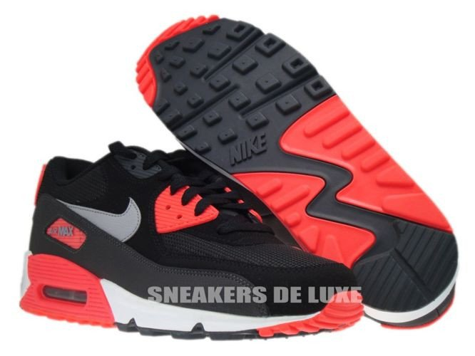 air max 90 black red