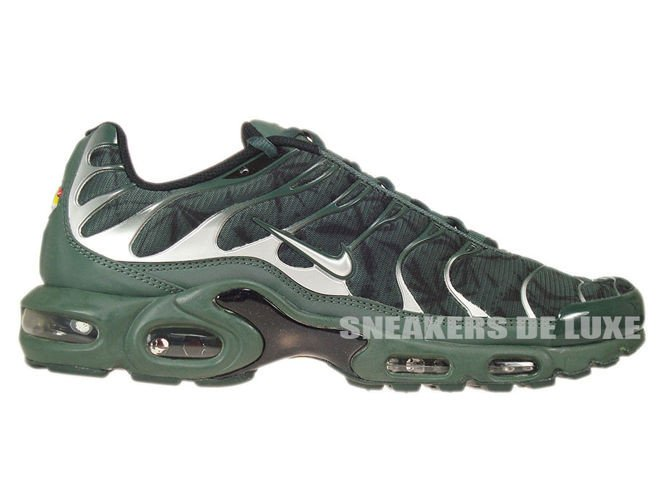... mens shoes green black gtgio5sm; 604133 303 nike air max plus tn 1  black bruse metallic silver vintage