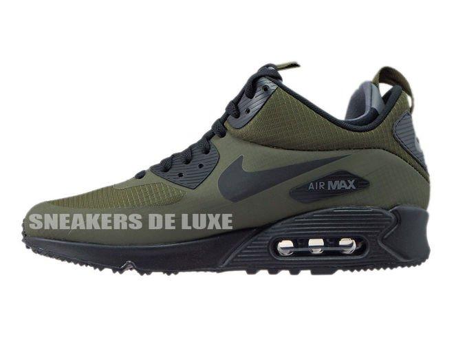 super popular 416a9 8ee3b 806808-300 Nike Air Max 90 Mid Winter Dark LodenBlack-Dark . ...