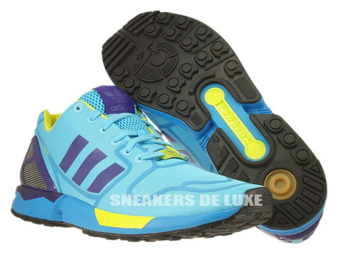 fcf4f2e0d adidas zx flux yellow purple