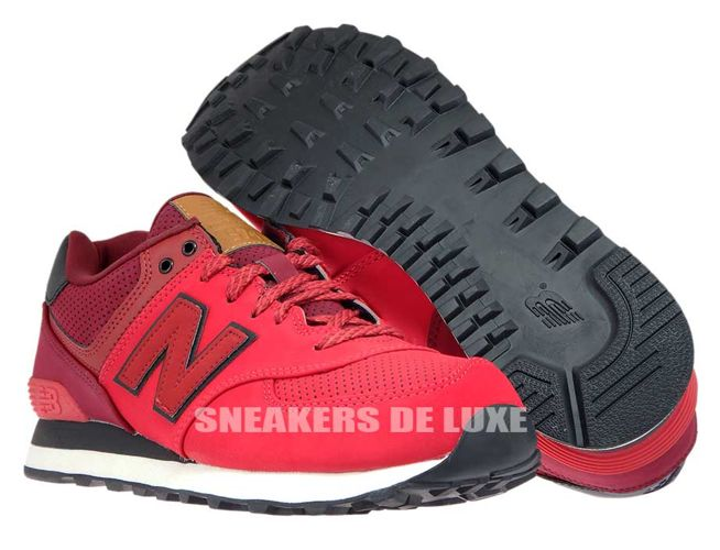 new balance dark red