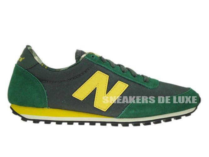 English: New Balance U410FYG 410 Green / Yellow U410FYG New Balance ...