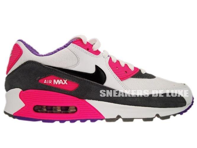 grey and pink air max 90