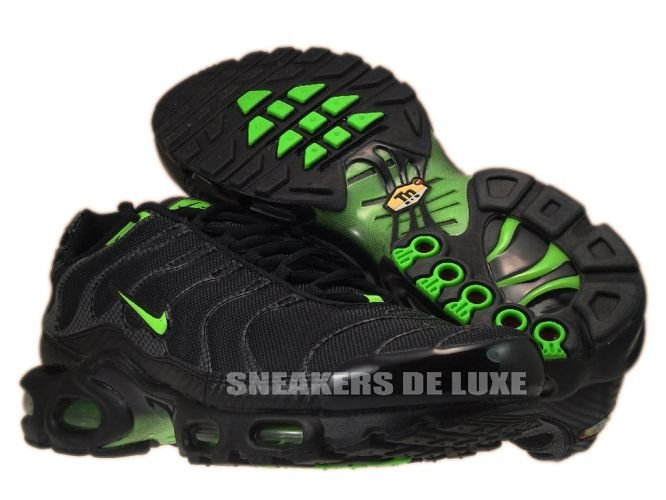 info for a52c5 c3e54 nike air max plus black and green