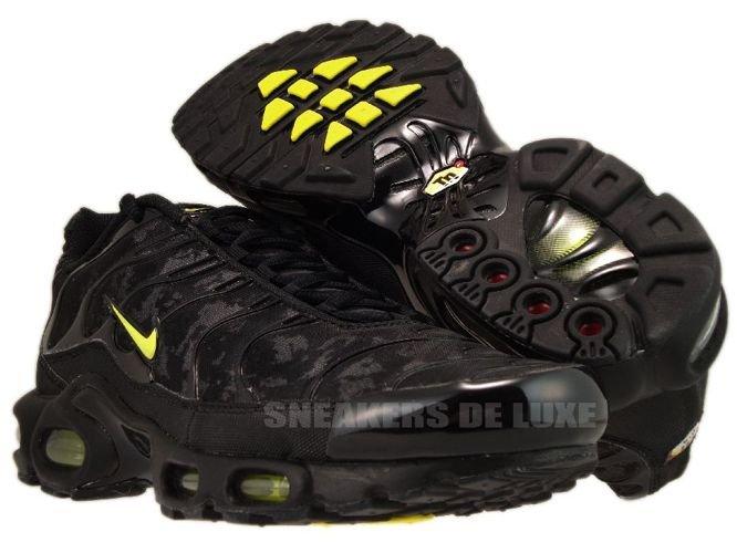 ... Nike Air Max Plus TN 1 Black/High Voltage-Dark Grey ...