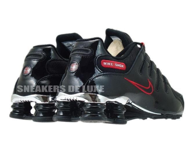 Nike Shox Nz Eu Black Red