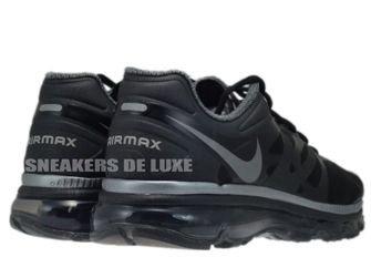 487679-020 Nike Air Max+ 2012 Black/Metallic Cool Grey
