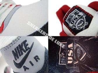 Nike Air Max Light White/Dark obsidian Varsity Red