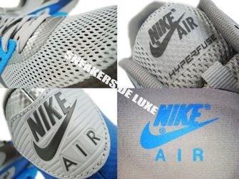 Nike Air Max 90 Premium Hyperfuse Midnight Fog/Medium Grey/Blue Glow